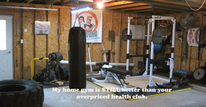I can has garage gym - U can 2.