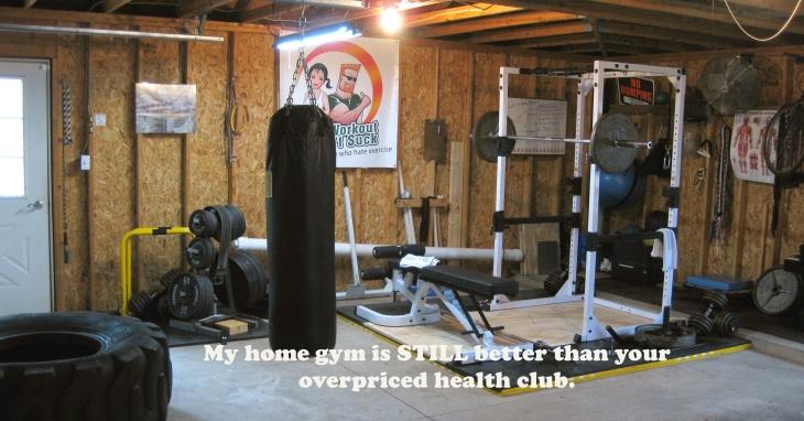 I can has garage gym - U can 2.