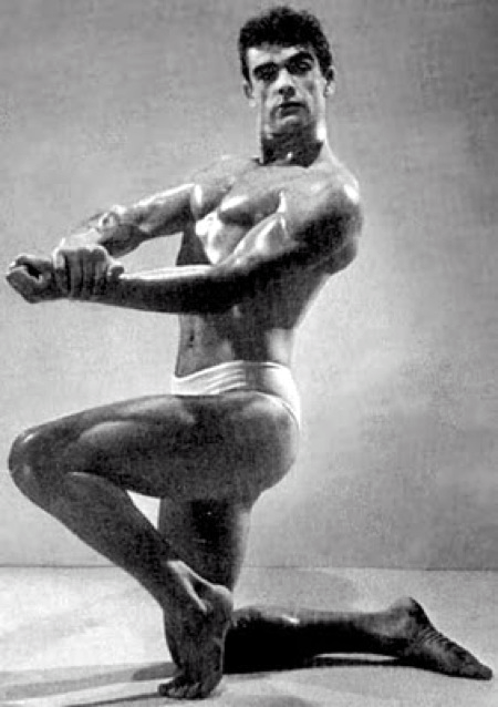 Hint: 3rd place finisher in the 1953 Mr. Universe competition